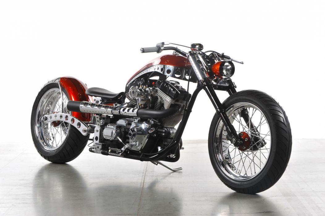 CUSTOM CHOPPER motorbike tuning bike hot rod rods    gh wallpaper