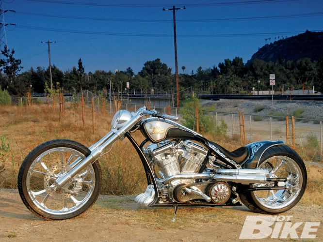 CUSTOM CHOPPER motorbike tuning bike hot rod rods gs wallpaper