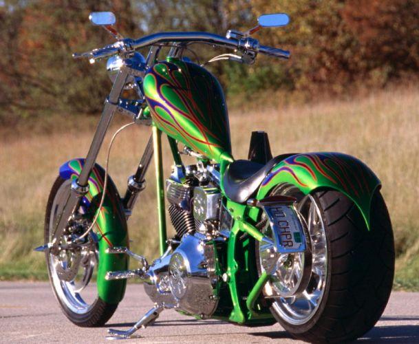 CUSTOM CHOPPER motorbike tuning bike hot rod rods j_JPG wallpaper