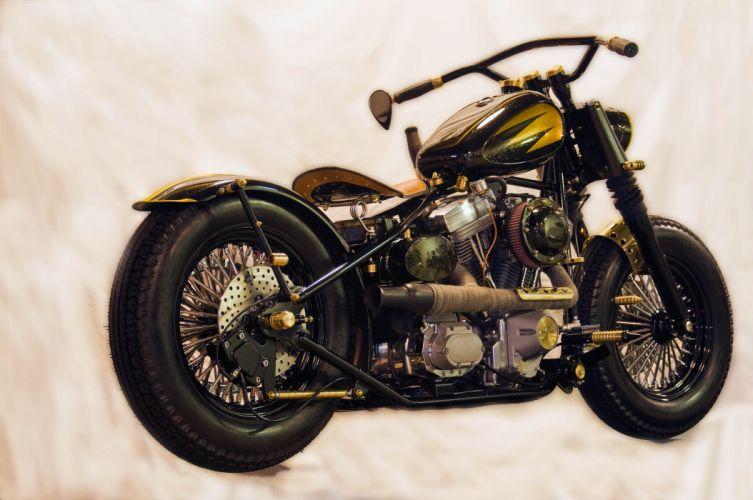 CUSTOM CHOPPER motorbike tuning bike hot rod rods tq wallpaper