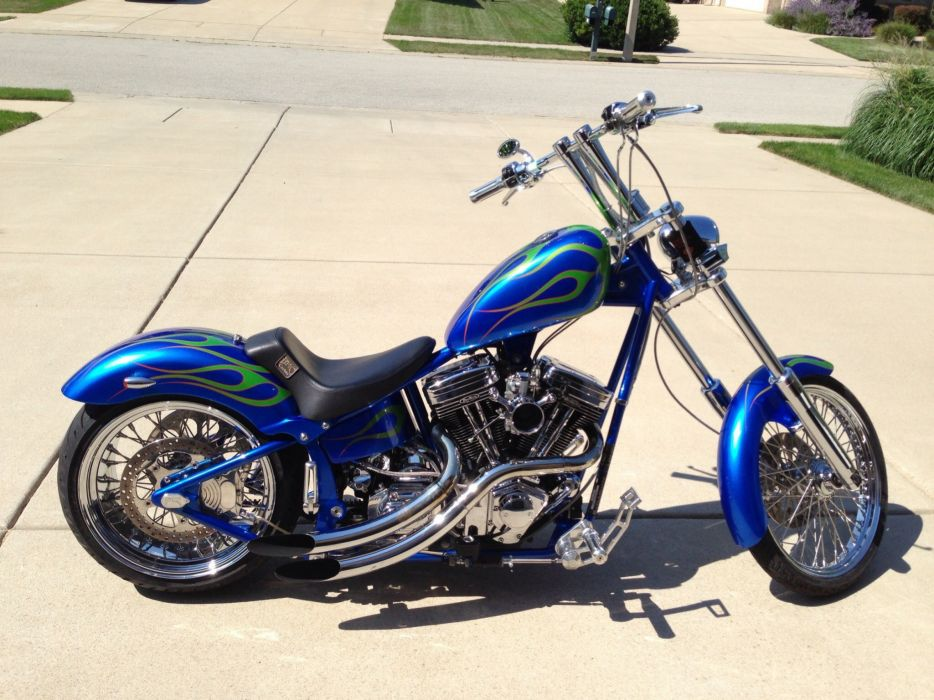 CUSTOM CHOPPER motorbike tuning bike hot rod rods    tu wallpaper