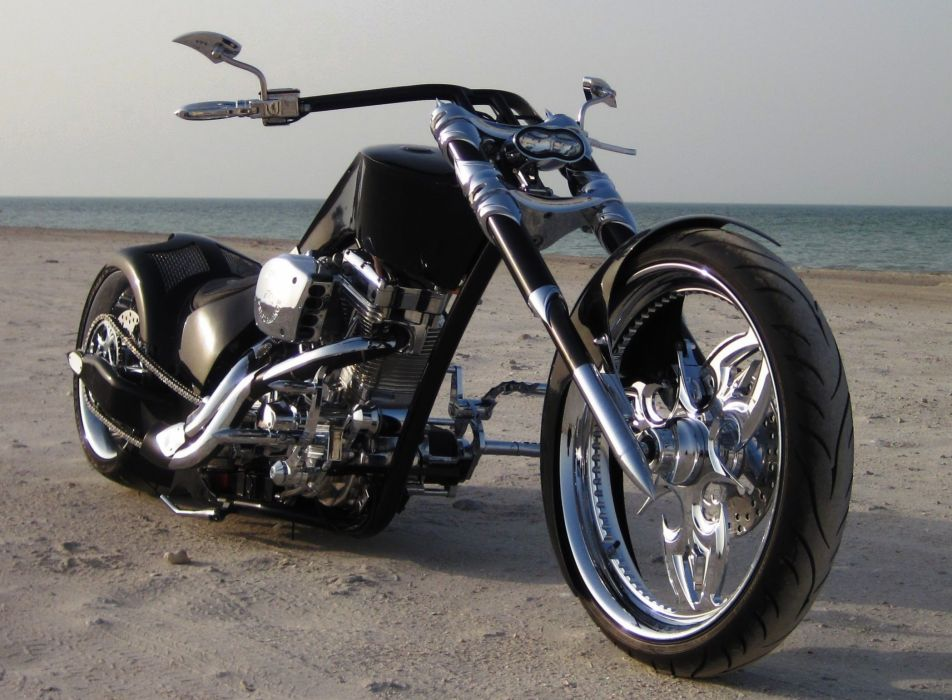 CUSTOM CHOPPER motorbike tuning bike hot rod rods    e wallpaper