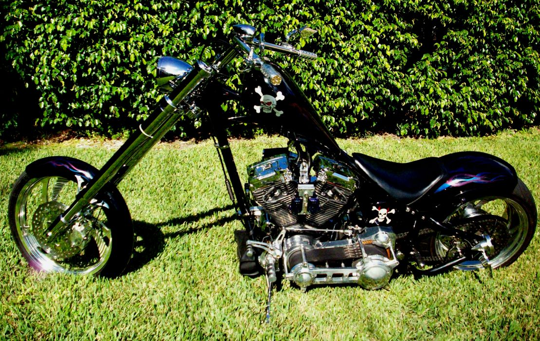 CUSTOM CHOPPER motorbike tuning bike hot rod rods    tw wallpaper
