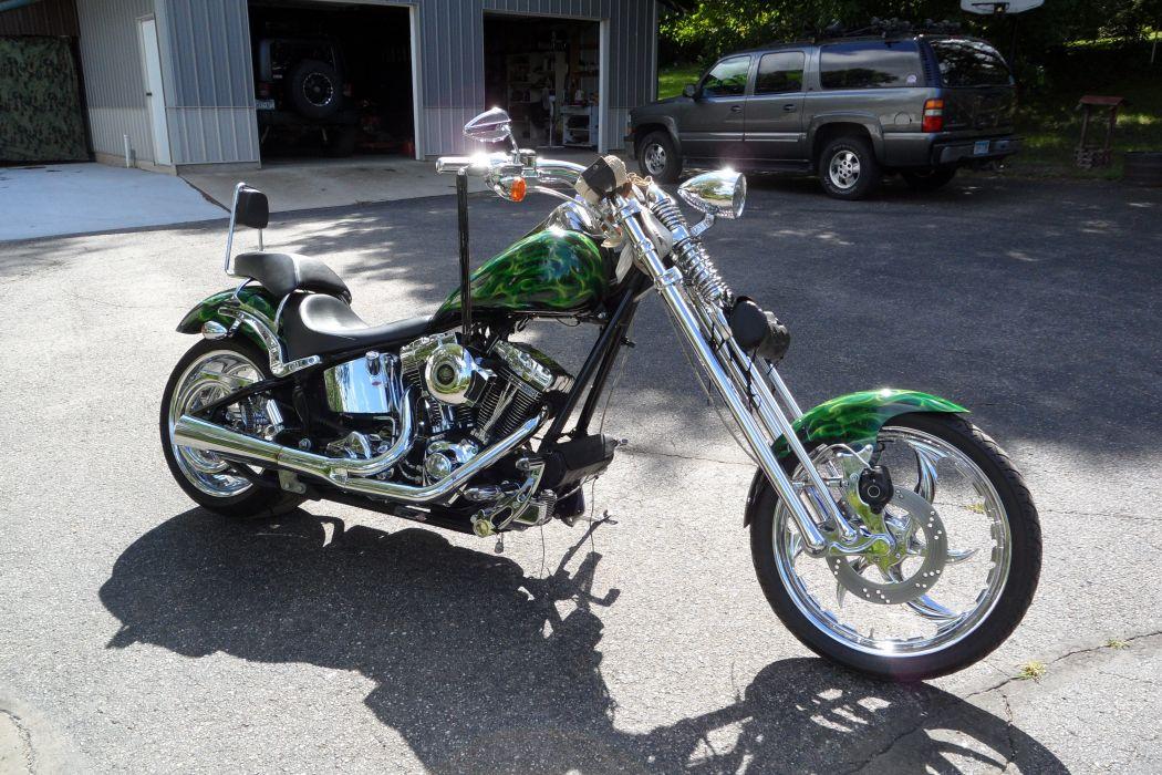CUSTOM CHOPPER motorbike tuning bike hot rod rods     y wallpaper