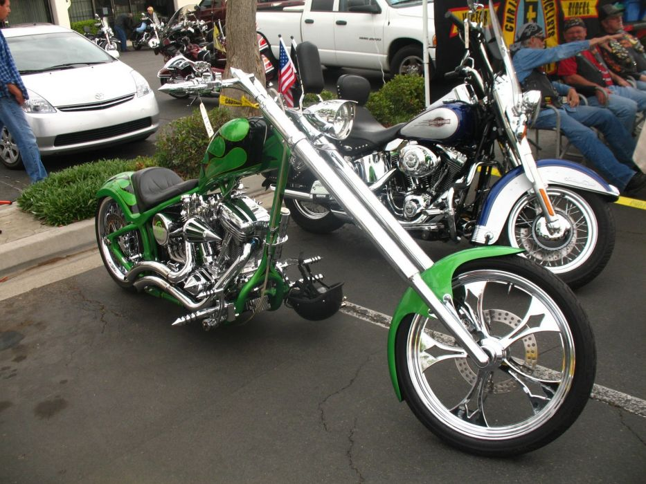 CUSTOM CHOPPER motorbike tuning bike hot rod rods   f_JPG wallpaper