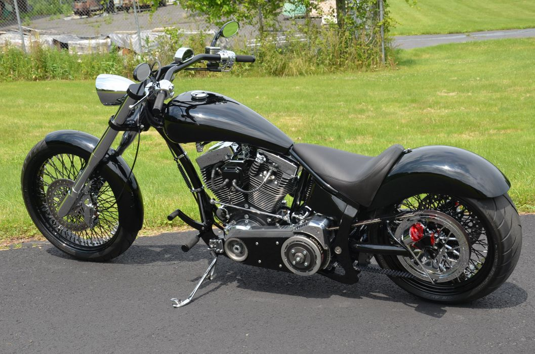 CUSTOM CHOPPER motorbike tuning bike hot rod rods   d_JPG wallpaper