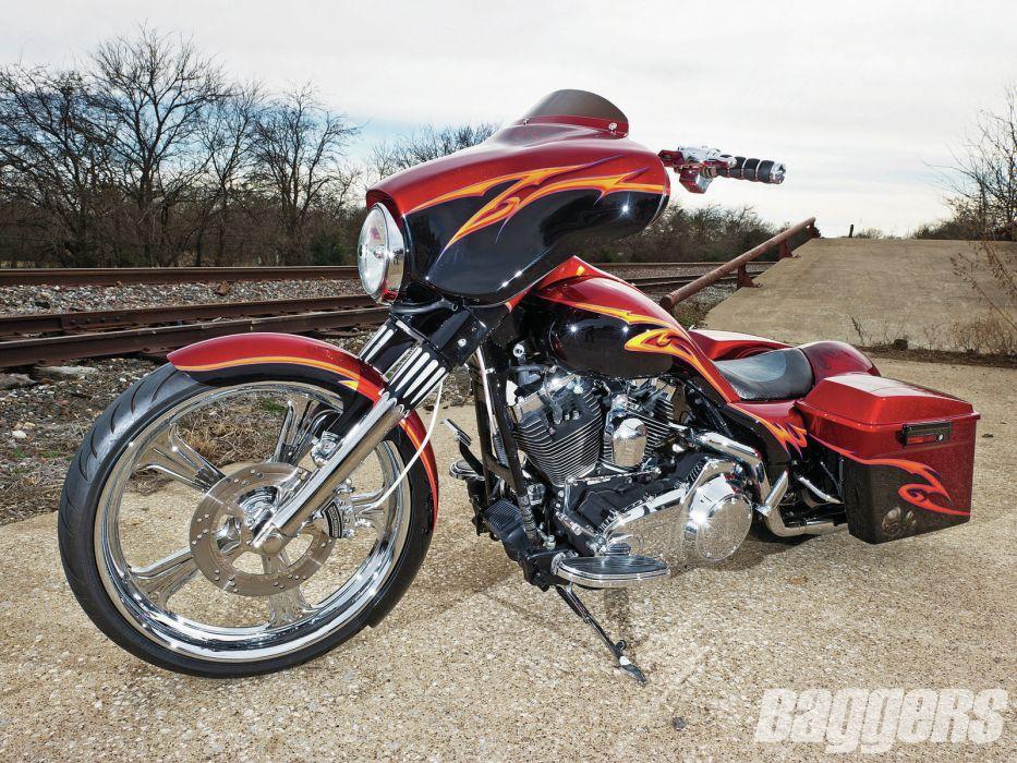 CUSTOM CHOPPER motorbike tuning bike hot rod rods   fq wallpaper