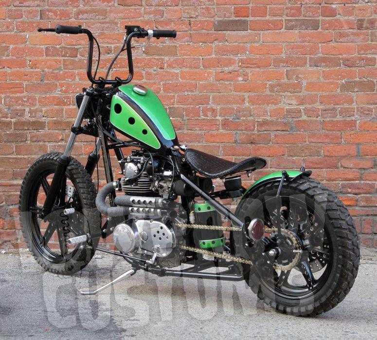 CUSTOM CHOPPER motorbike tuning bike hot rod rods   gr wallpaper