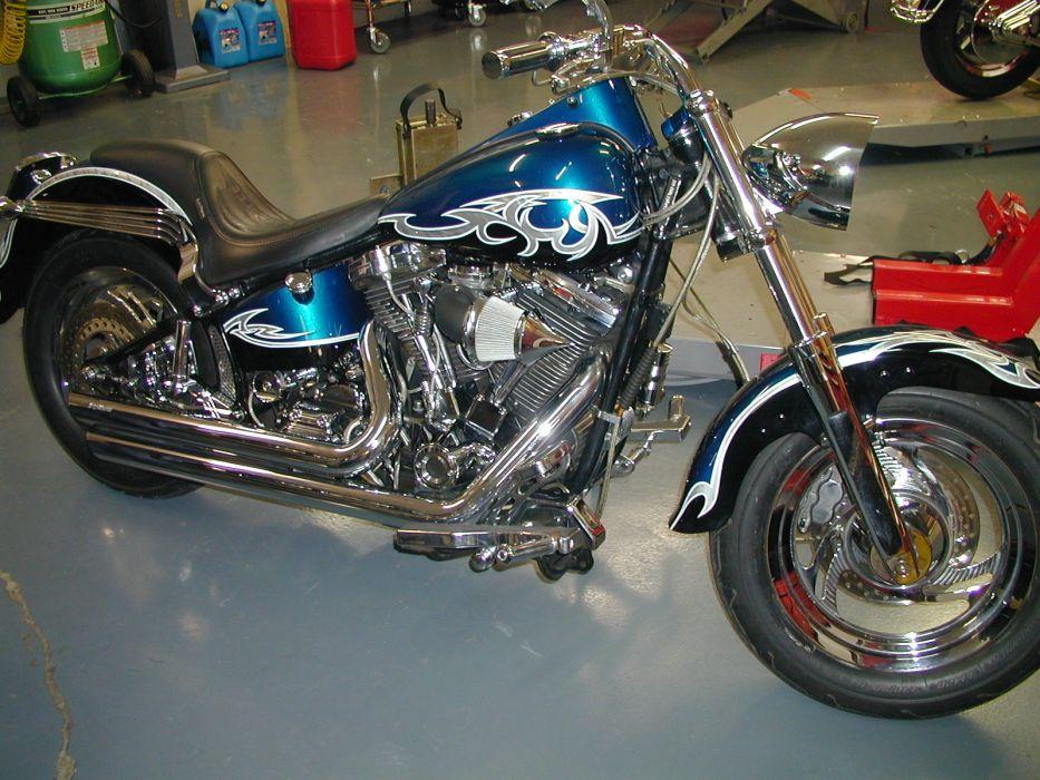 CUSTOM CHOPPER motorbike tuning bike hot rod rods    h wallpaper
