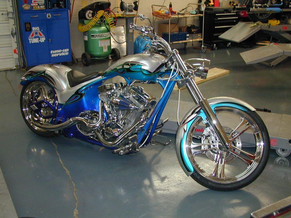 CUSTOM CHOPPER motorbike tuning bike hot rod rods    j wallpaper