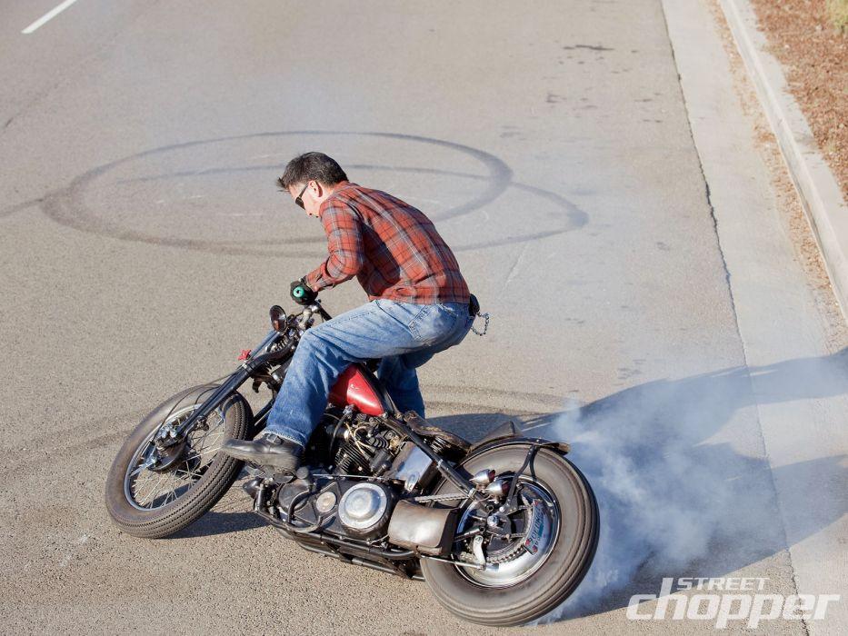 CUSTOM CHOPPER motorbike tuning bike hot rod rods    jq wallpaper