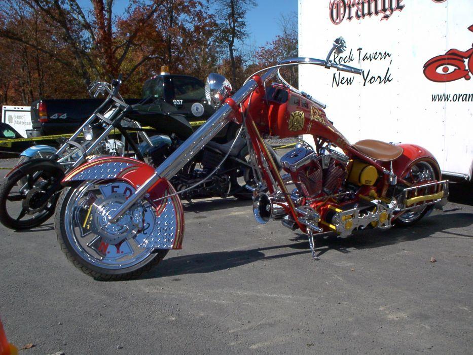 CUSTOM CHOPPER motorbike tuning bike hot rod rods    jw wallpaper