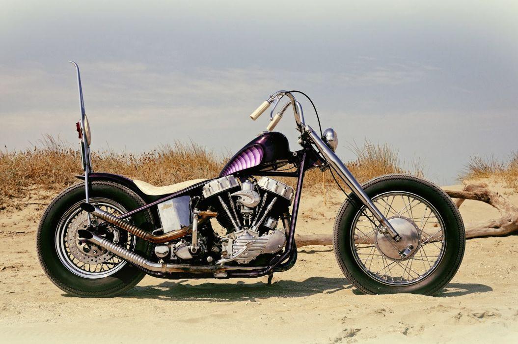 CUSTOM CHOPPER motorbike tuning bike hot rod rods  hp_JPG wallpaper