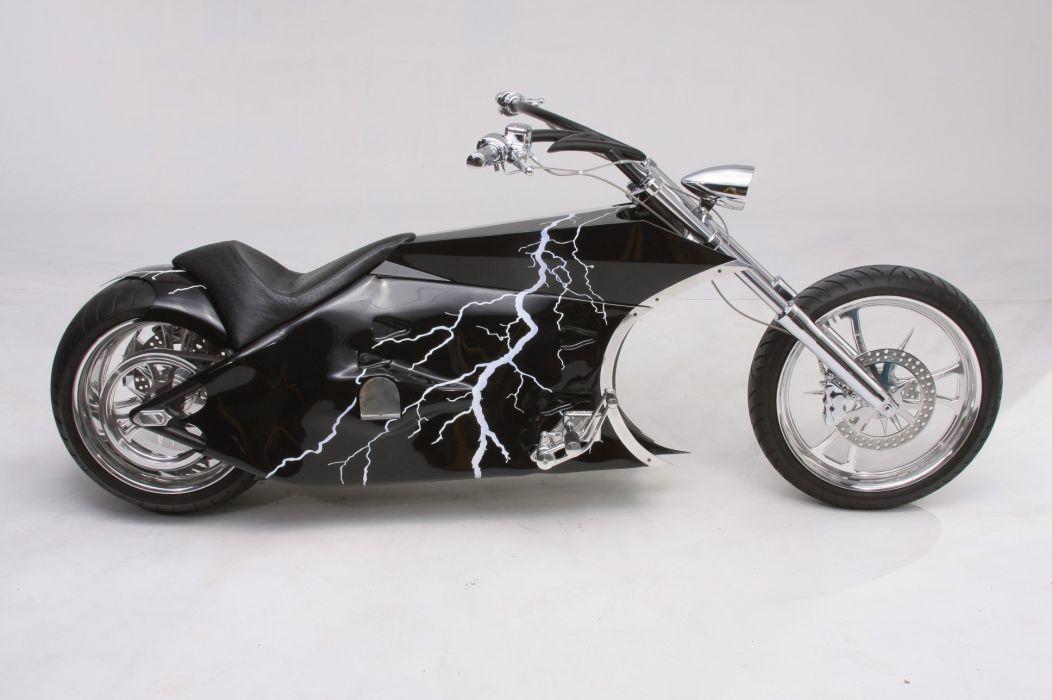 CUSTOM CHOPPER motorbike tuning bike hot rod rods  df wallpaper