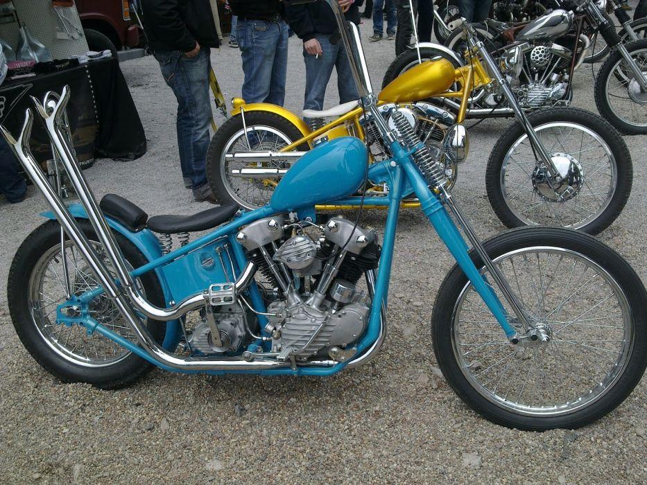 CUSTOM CHOPPER motorbike tuning bike hot rod rods  r_JPG wallpaper