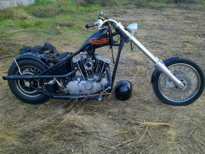 CUSTOM CHOPPER motorbike tuning bike hot rod rods rw wallpaper