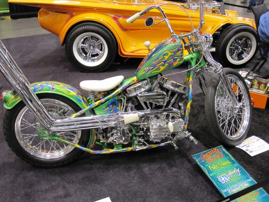 CUSTOM CHOPPER motorbike tuning bike hot rod rods  g_JPG wallpaper