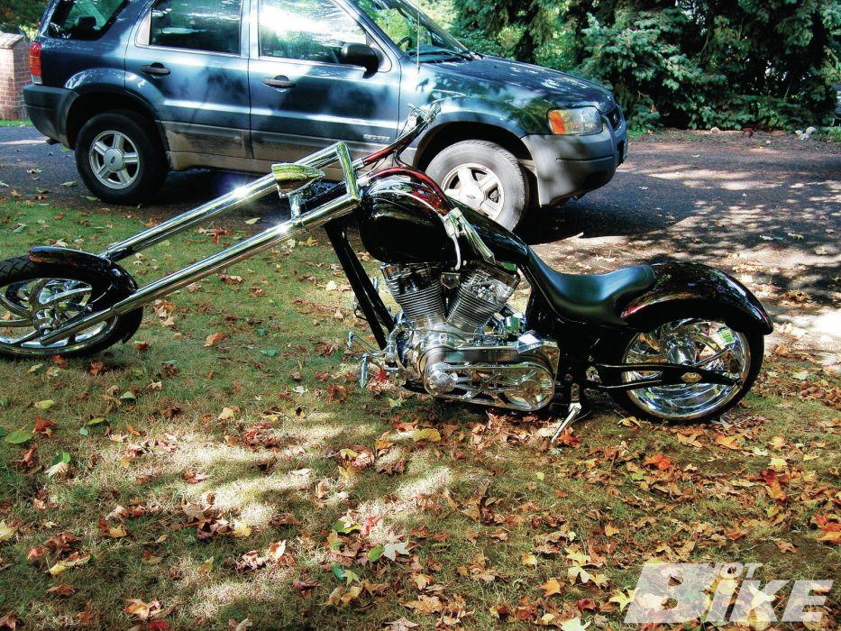 CUSTOM CHOPPER motorbike tuning bike hot rod rods f wallpaper
