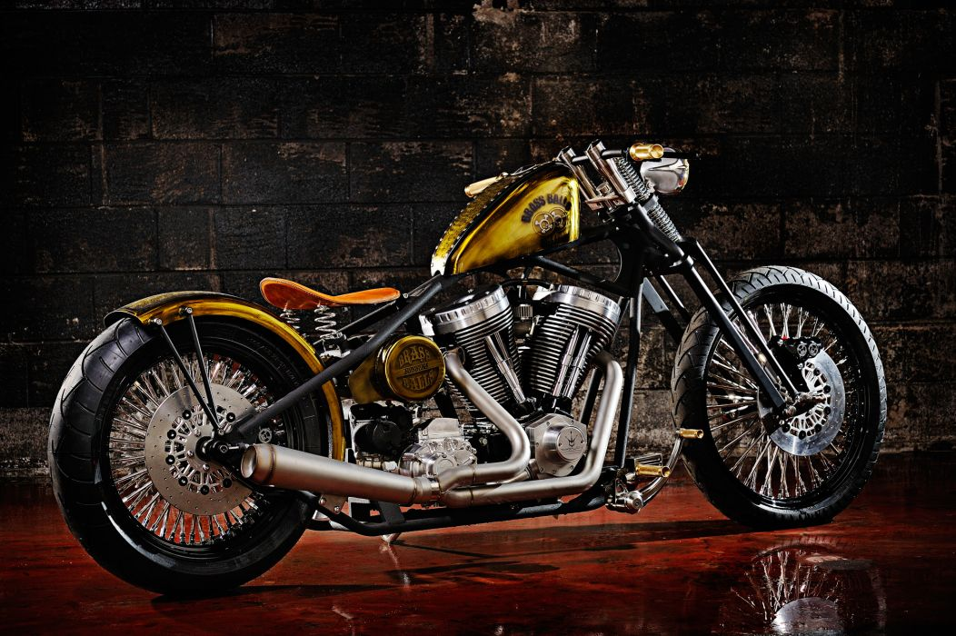 CUSTOM CHOPPER motorbike tuning bike hot rod rods   w wallpaper