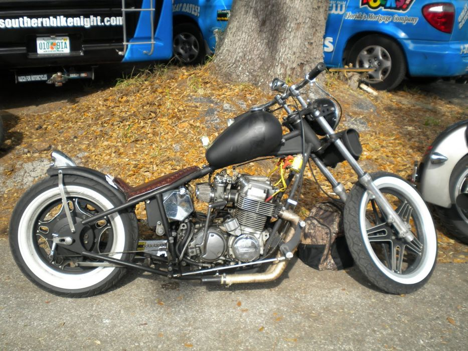 CUSTOM CHOPPER motorbike tuning bike hot rod rods  fw_JPG wallpaper