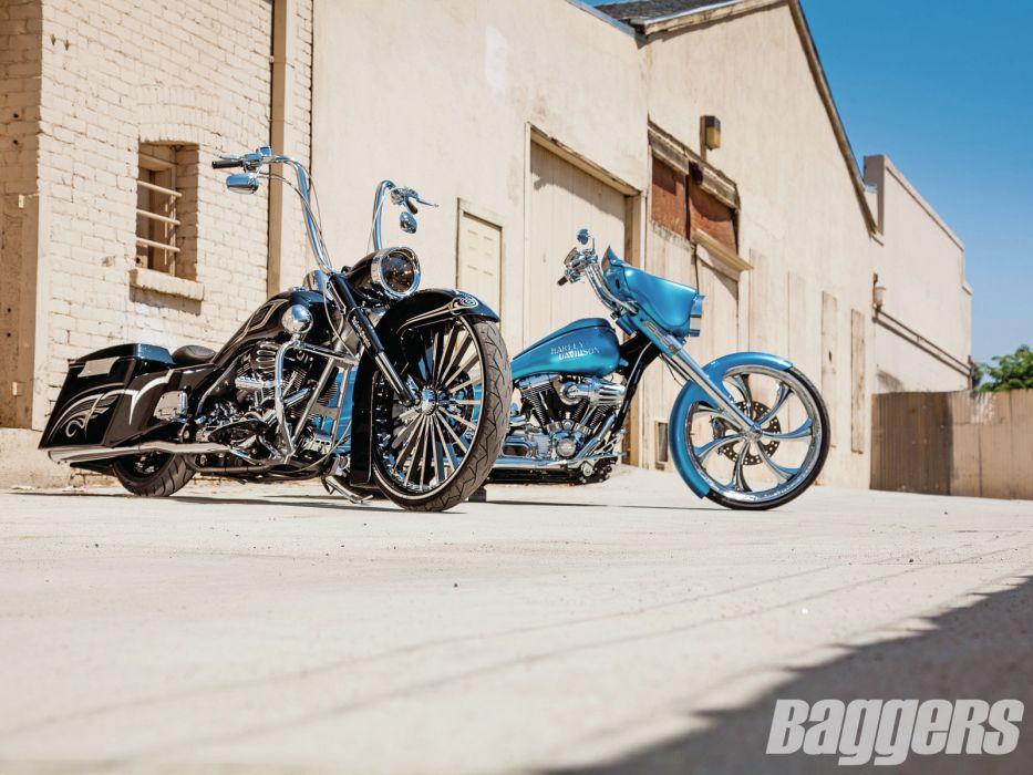 CUSTOM CHOPPER motorbike tuning bike hot rod rods  gw wallpaper