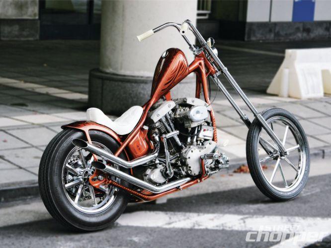 CUSTOM CHOPPER motorbike tuning bike hot rod rods engine h wallpaper