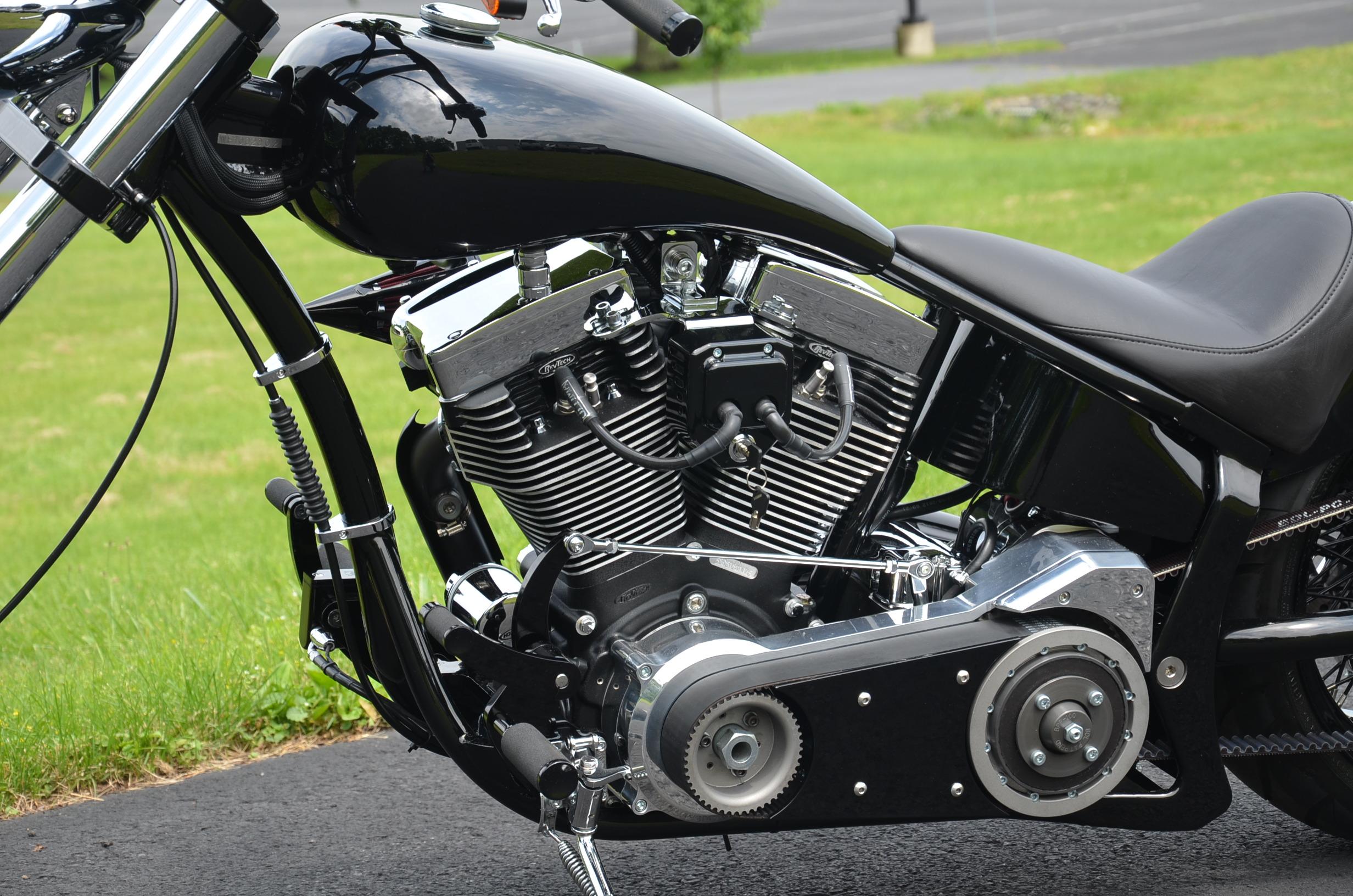 CUSTOM CHOPPER Motorbike Tuning Bike Hot Rod Rods Engine F