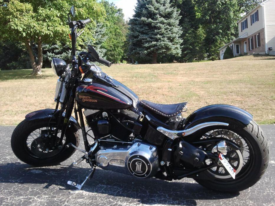 CUSTOM CHOPPER motorbike tuning bike hot rod rods harley davidson    h wallpaper