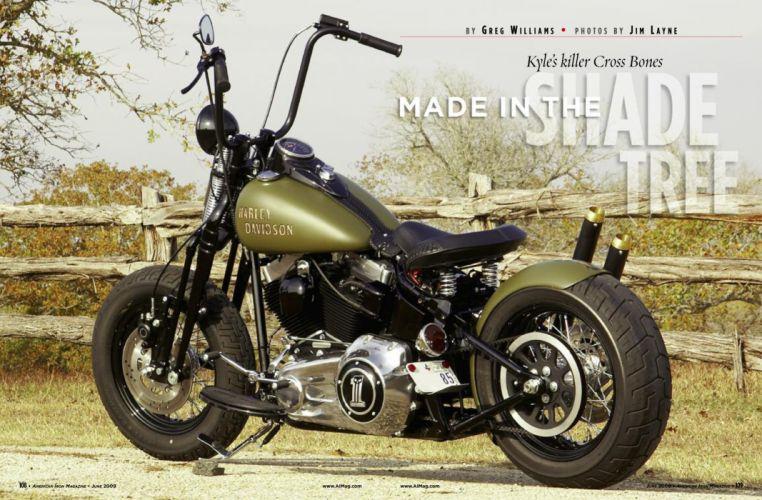 CUSTOM CHOPPER motorbike tuning bike hot rod rods harley davidson poster g wallpaper