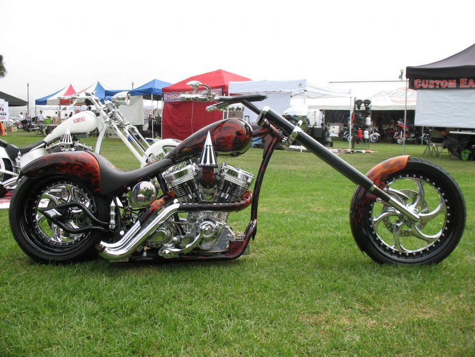 CUSTOM CHOPPER motorbike tuning bike hot rod rods engine        f_JPG wallpaper