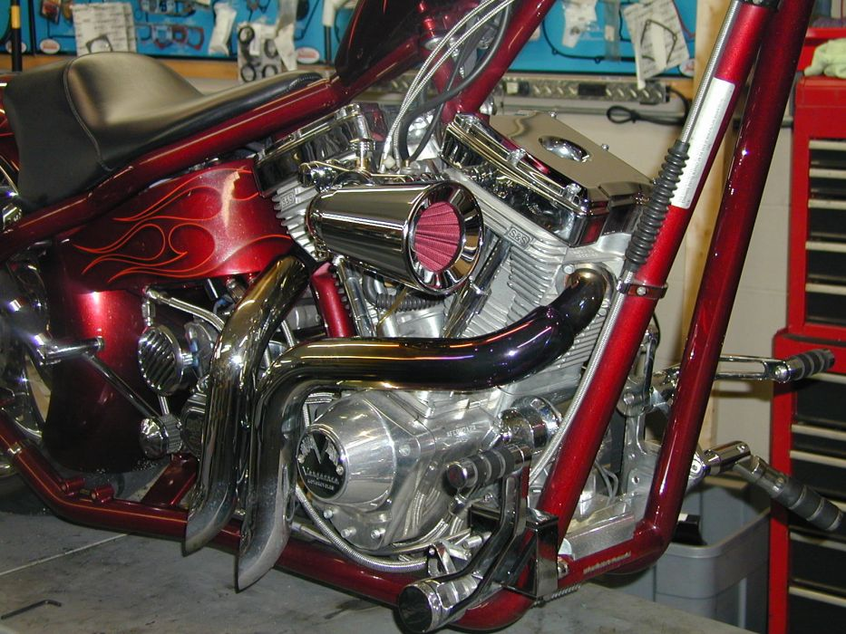 CUSTOM CHOPPER motorbike tuning bike hot rod rods engine      g wallpaper