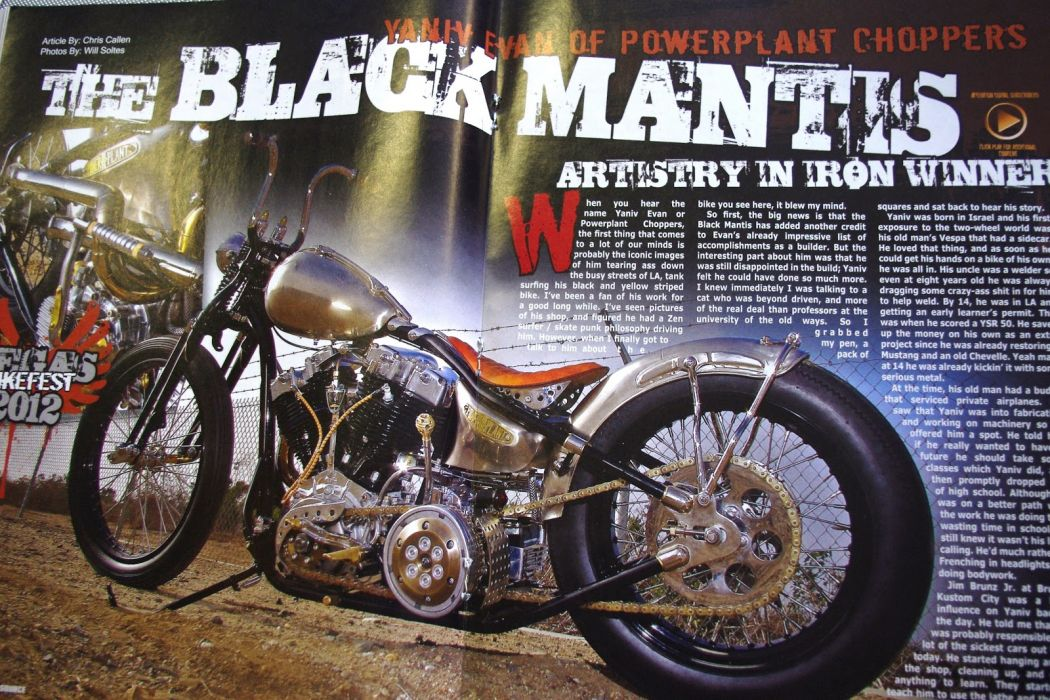 CUSTOM CHOPPER motorbike tuning bike hot rod rods poster   hs wallpaper