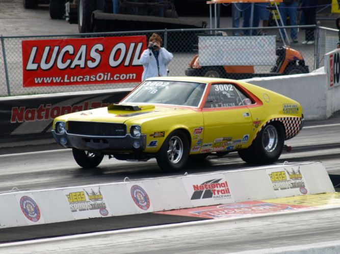drag racing race hot rod rods amc amx javelin f wallpaper