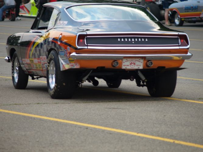 drag racing race hot rod rods plymouth barracuda cuda d wallpaper