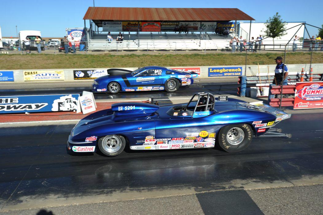 drag racing race hot rod rods chevrolet corvette   g wallpaper
