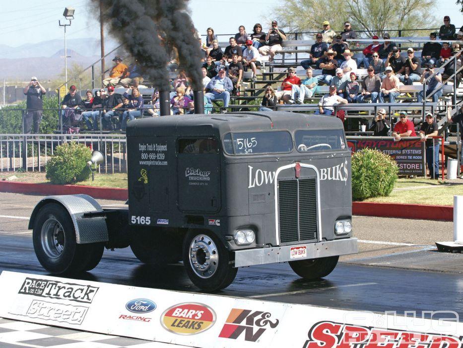 drag racing race hot rod rods semi tractor      g wallpaper
