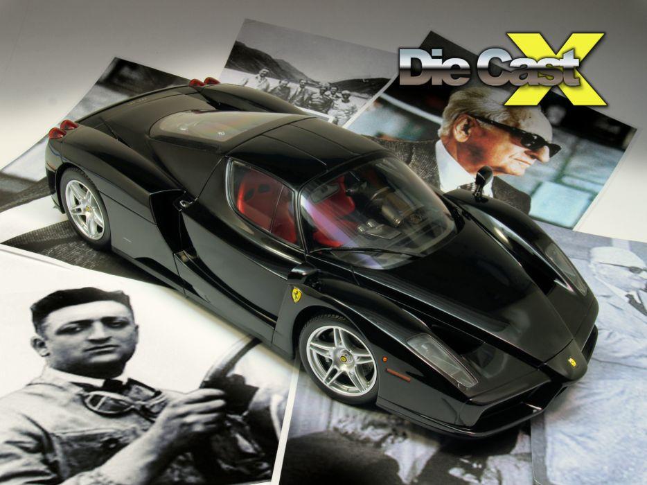 Ferrari Enzo supercar       h wallpaper