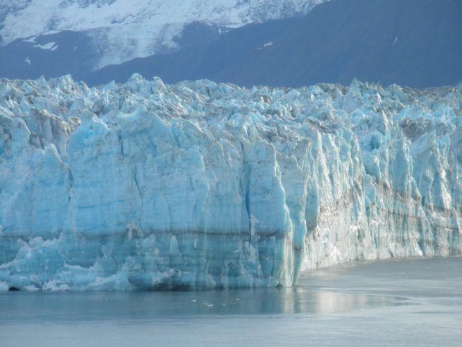 glacier calving winter ice snow e_JPG wallpaper