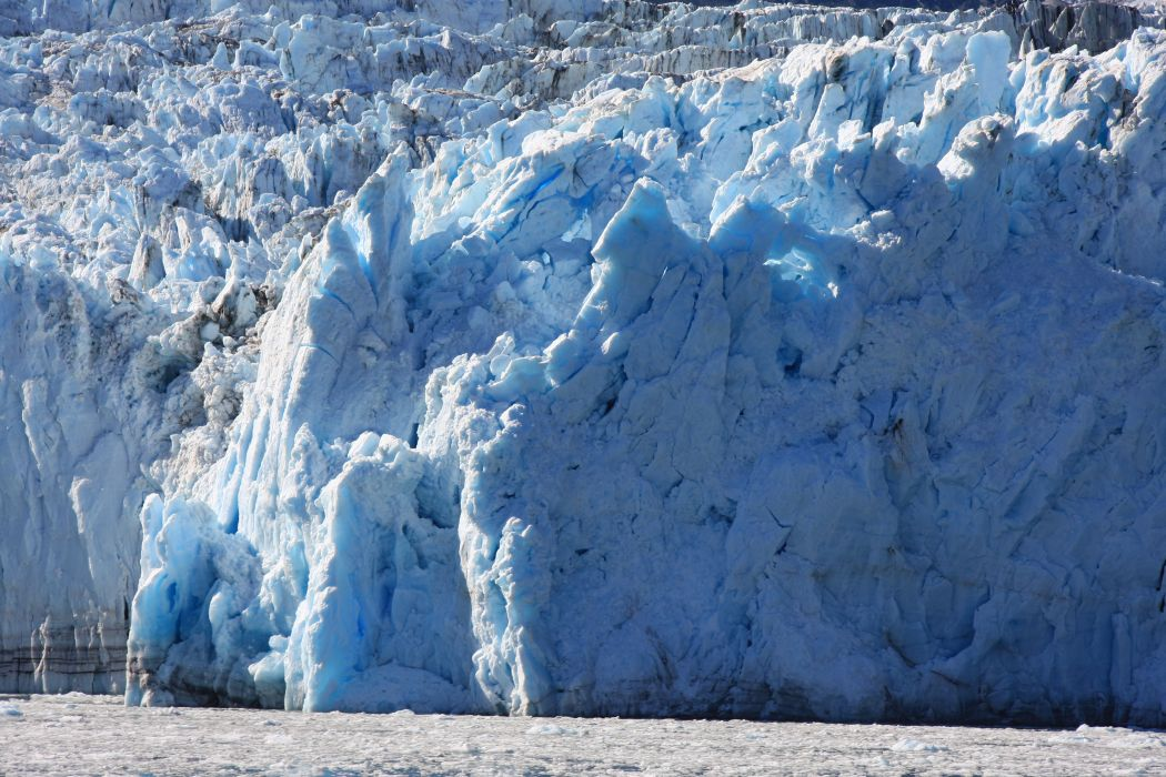glacier calving winter ice snow  t wallpaper