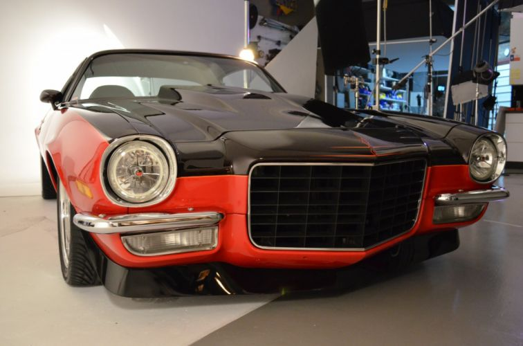 hot rod rods 1972 Chevy Camaro S-S muscle j wallpaper