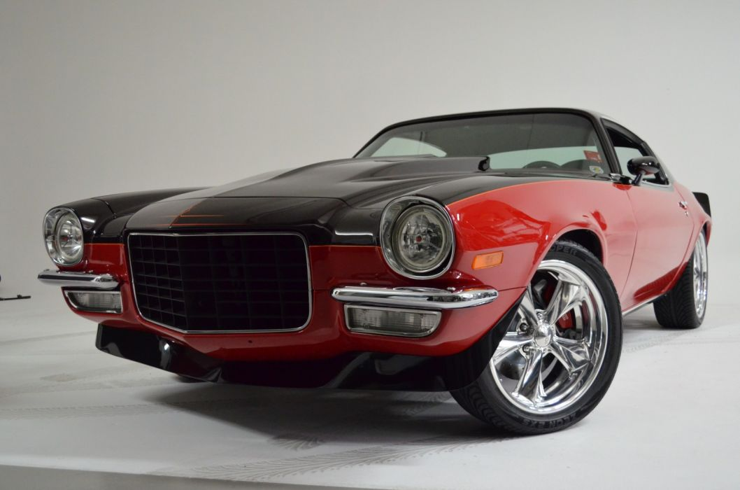 hot rod rods 1972 Chevy Camaro S-S muscle       h wallpaper