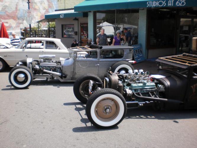 hot rod rods retro rat engine f_JPG wallpaper