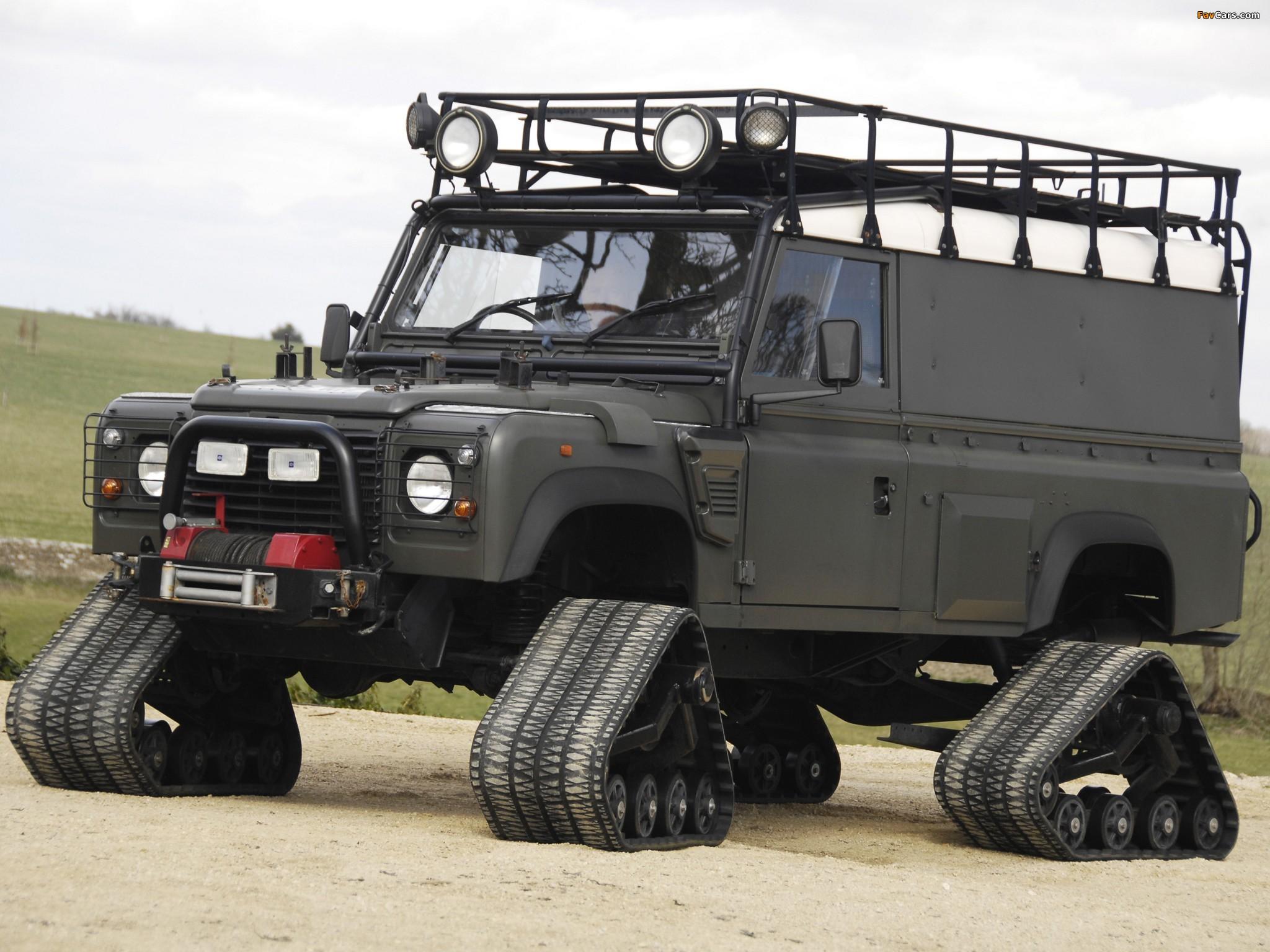 Land Rover Defender 110 Hard Top Matt Track 1998 4x4