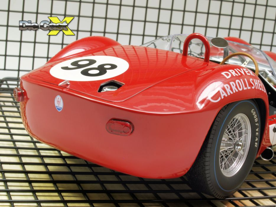 Maserati Type-61 Birdcage Shelby race racing f wallpaper