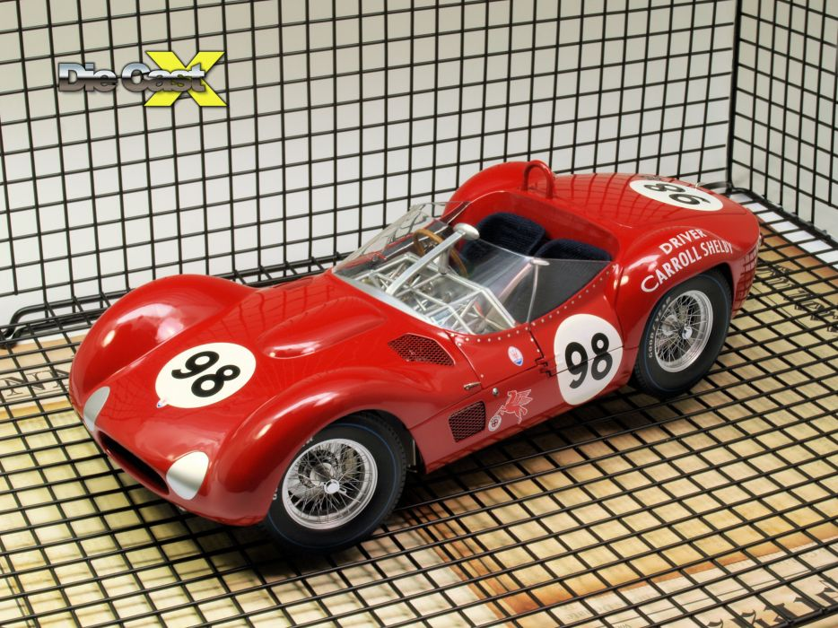 Maserati Type-61 Birdcage Shelby race racing   d wallpaper