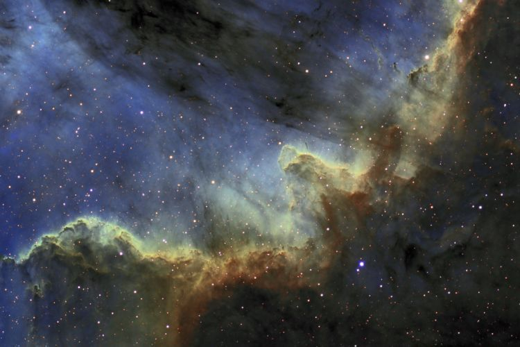 nebula stars d wallpaper