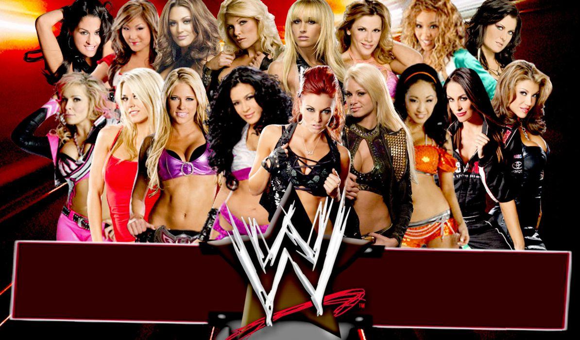 WWE wrestling divas poster       g wallpaper