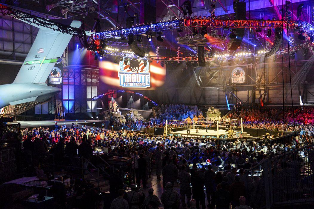 WWE wrestling stadium crowd      g wallpaper