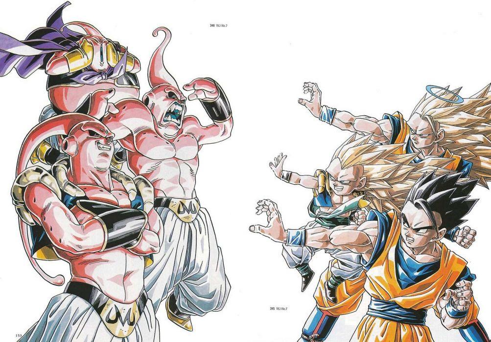 Buu Son Goku Son Gohan Dragon Ball Z wallpaper
