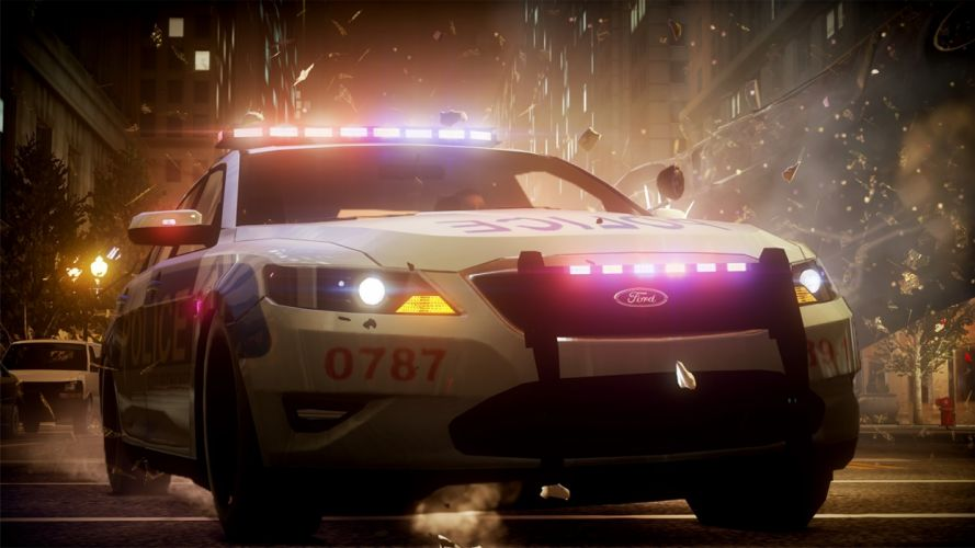 Ford police Need for Speed games wallpaper